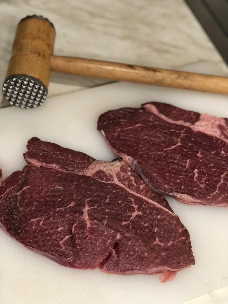 Фото рецепта - Стейк из говядины с булгуром - шаг 3
