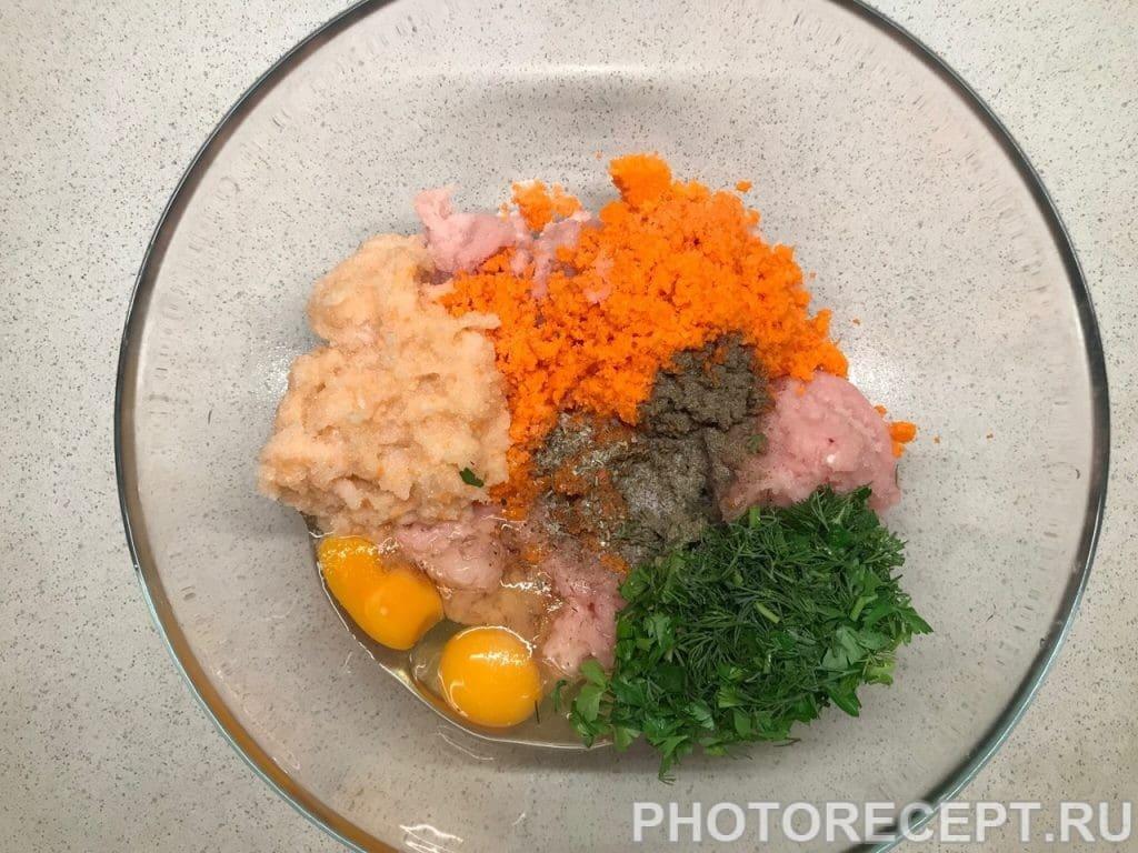 Фото рецепта - Мясная буханка из курицы - шаг 2