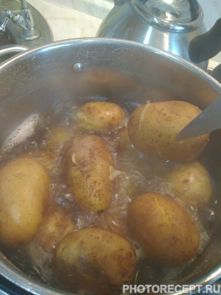 Фото рецепта - Картофельные корзинки с секретом - шаг 1