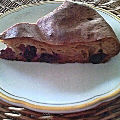 Фото рецепта - Заливной пирог с ягодами - шаг 6