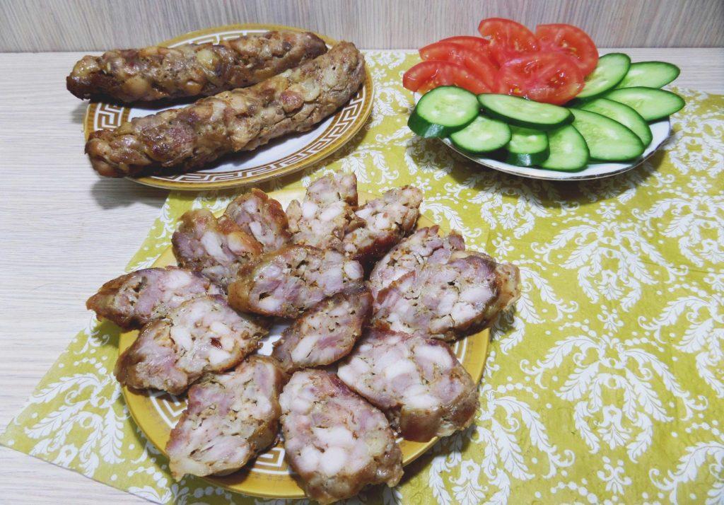 Фото рецепта - Домашняя ветчина с курицей - шаг 8