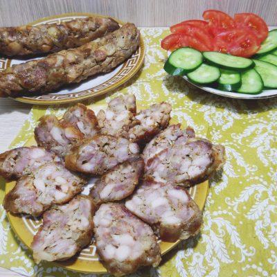 Домашняя ветчина с курицей - рецепт с фото