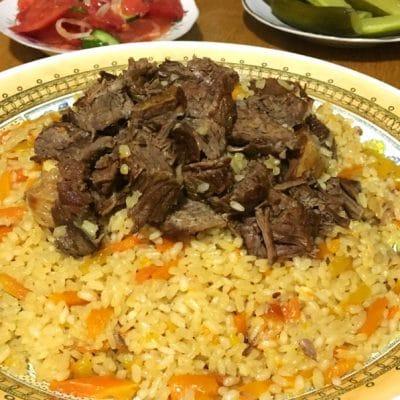 Плов из говядины по-узбекски - рецепт с фото