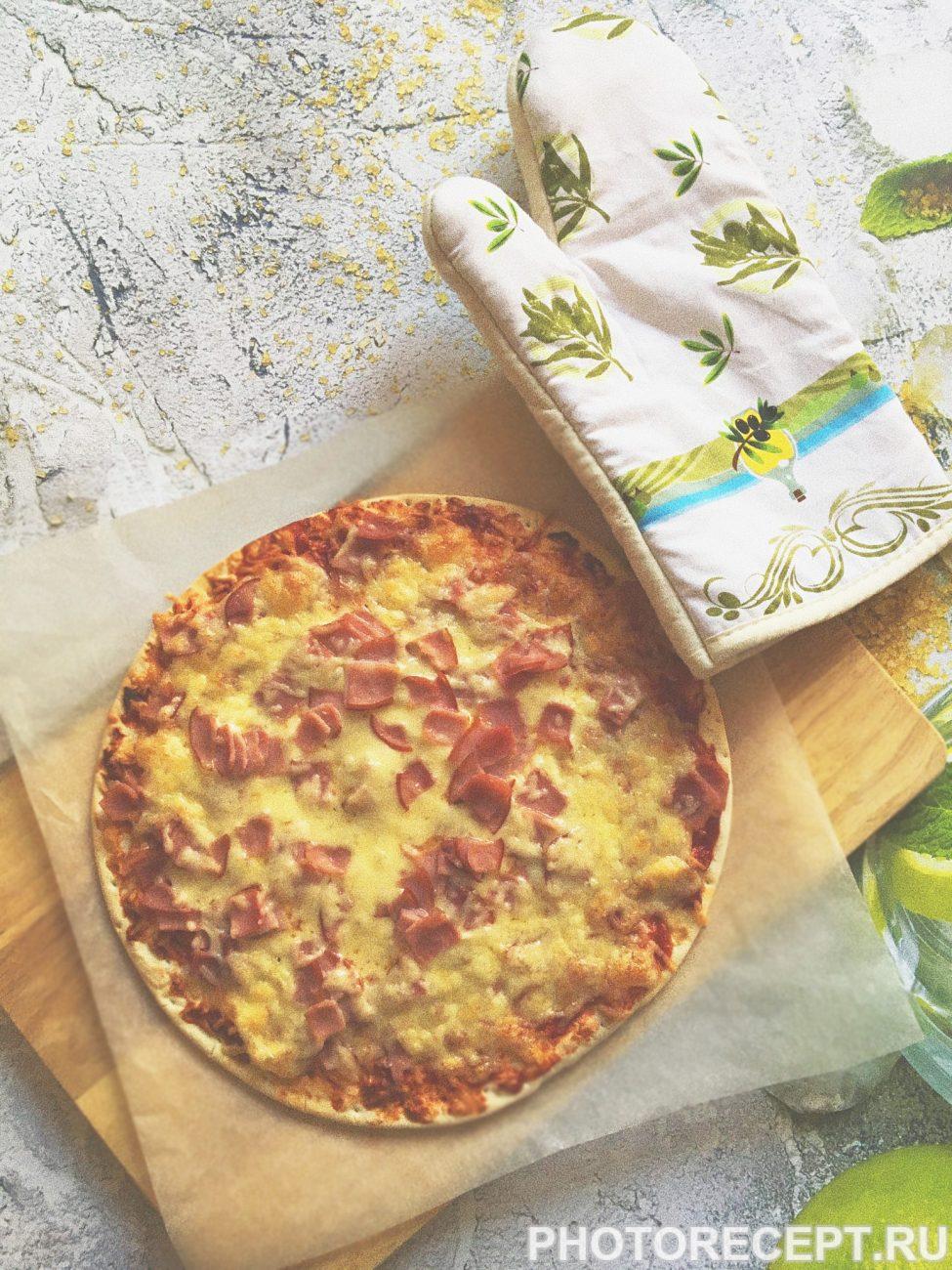 Пицца «Успевайка» с ветчиной и сыром
