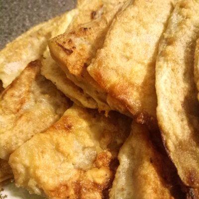Отбивные из баклажанов - рецепт с фото
