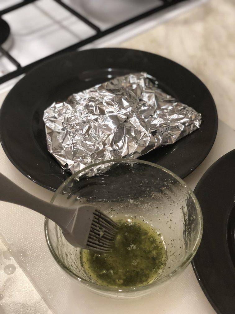 Фото рецепта - Стейк из говядины с булгуром - шаг 6