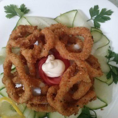 Фото рецепта - Кольца кальмара в ореховой панировке - шаг 5