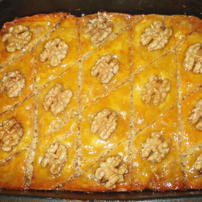 Пахлава бакинская - рецепт с фото