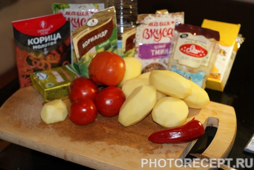 Фото рецепта - Картофель по-мумбайски - шаг 1