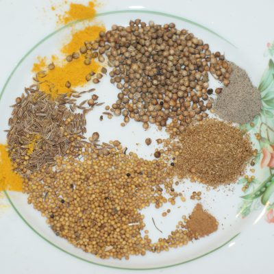 Фото рецепта - Картофель по-мумбайски - шаг 5