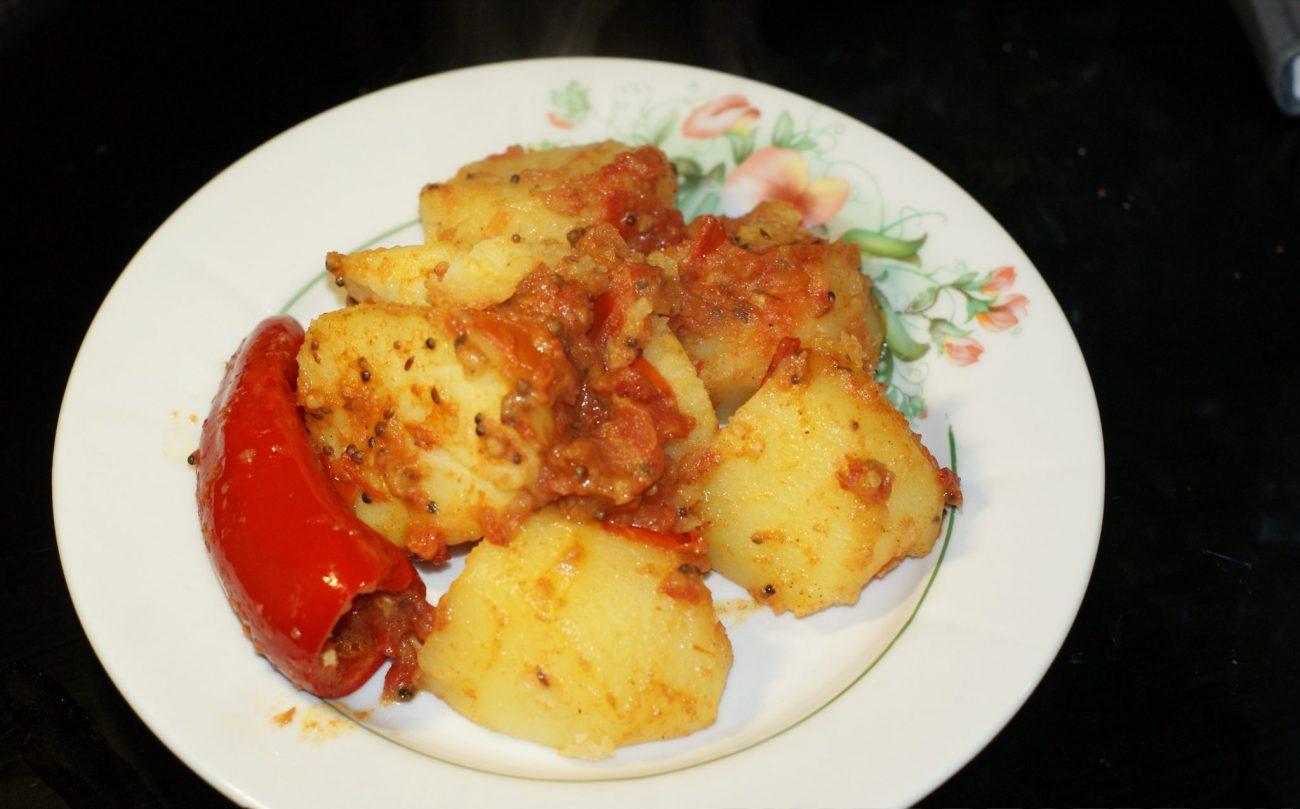 Картофель по-мумбайски