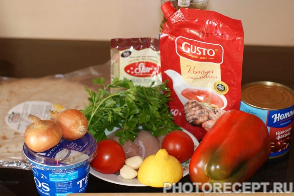 Фото рецепта - Буррито по-мексикански - шаг 1
