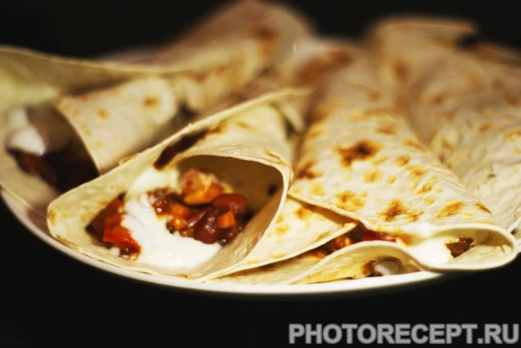 Фото рецепта - Буррито по-мексикански - шаг 10
