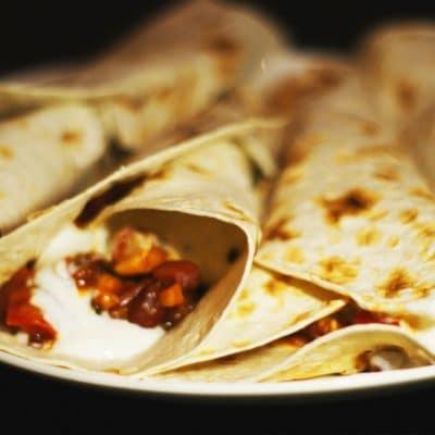 Буррито по-мексикански - рецепт с фото