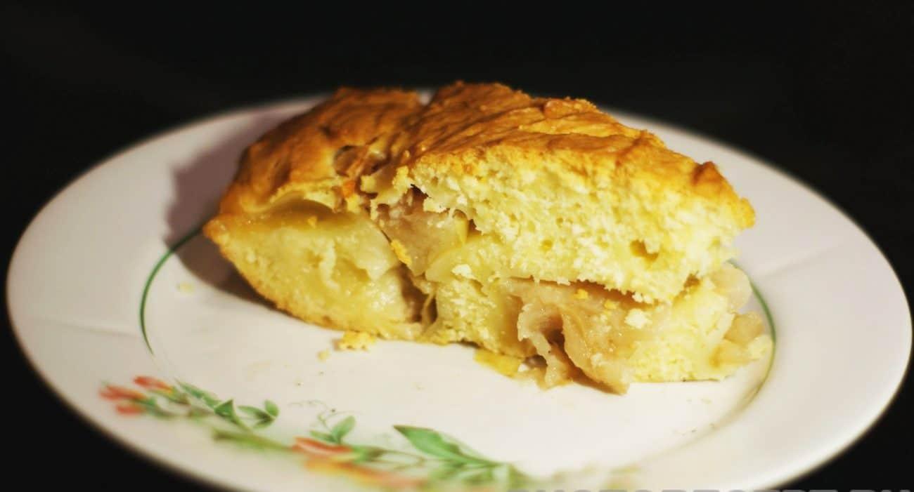 Вкусный и простой яблочный пирог