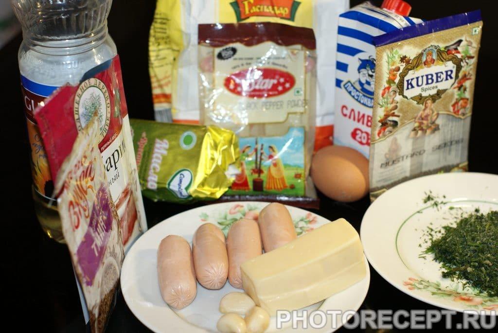 Фото рецепта - Закусочные блинчики - шаг 1