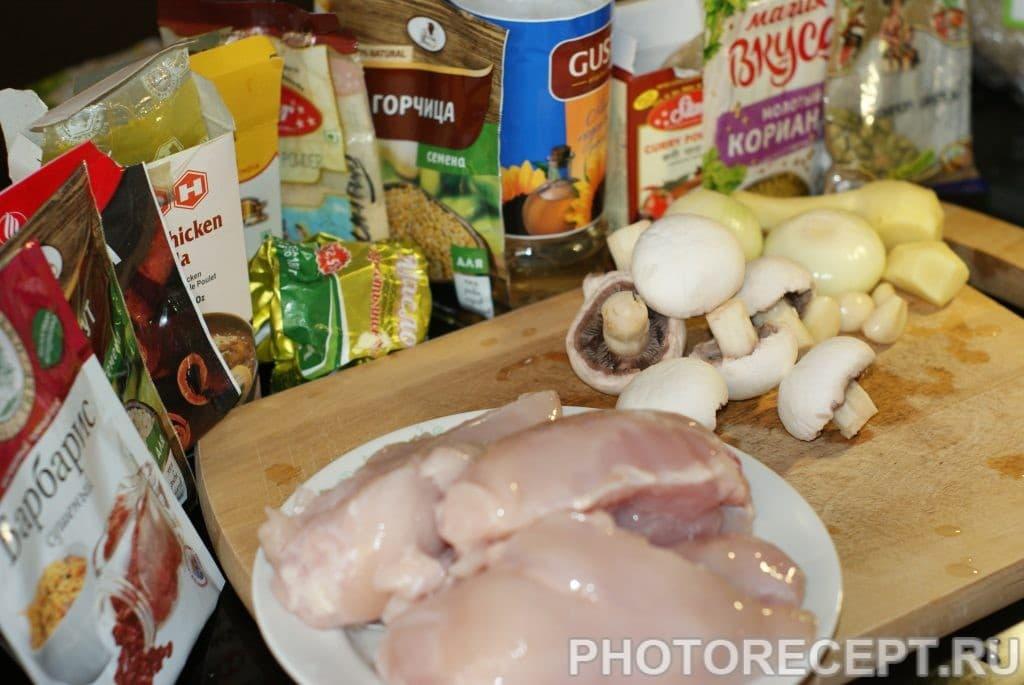 Фото рецепта - Куриное филе в сливках - шаг 1