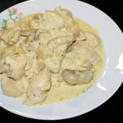 Фото рецепта - Куриное филе в сливках - шаг 15