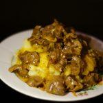 Фото рецепта - Куриные желудочки тушенные в сметане - шаг 12