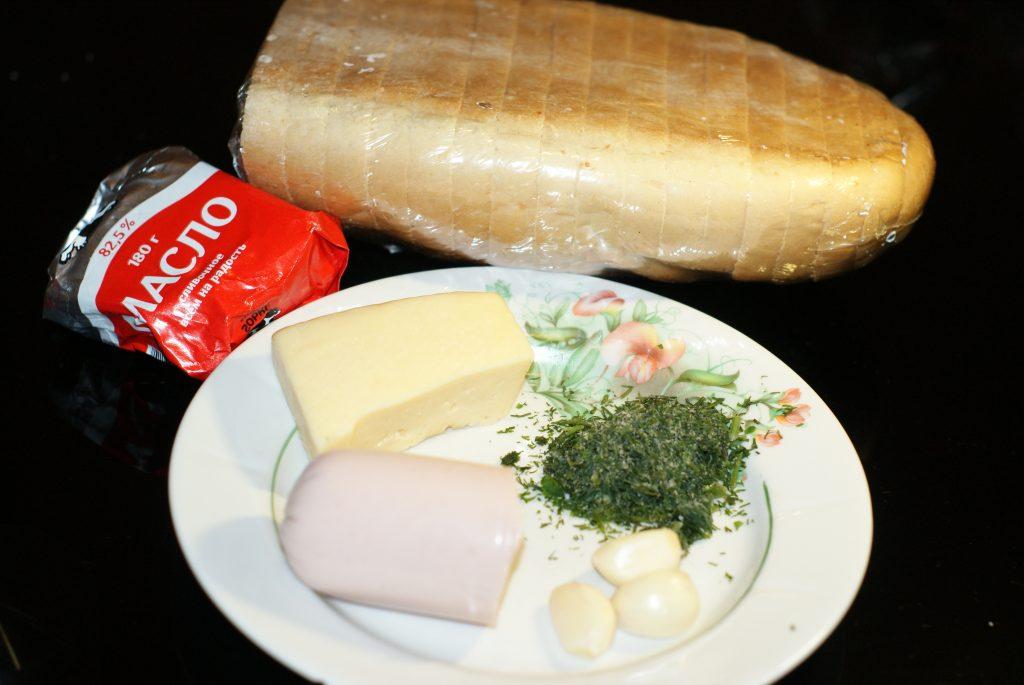 Фото рецепта - Быстрые бутерброды - шаг 1