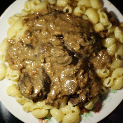 Фото рецепта - Печень куриная в ореховом соусе - шаг 9