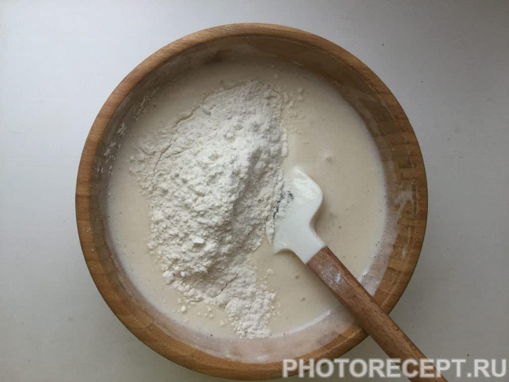 Фото рецепта - Яблочный пирог в духовке - шаг 3