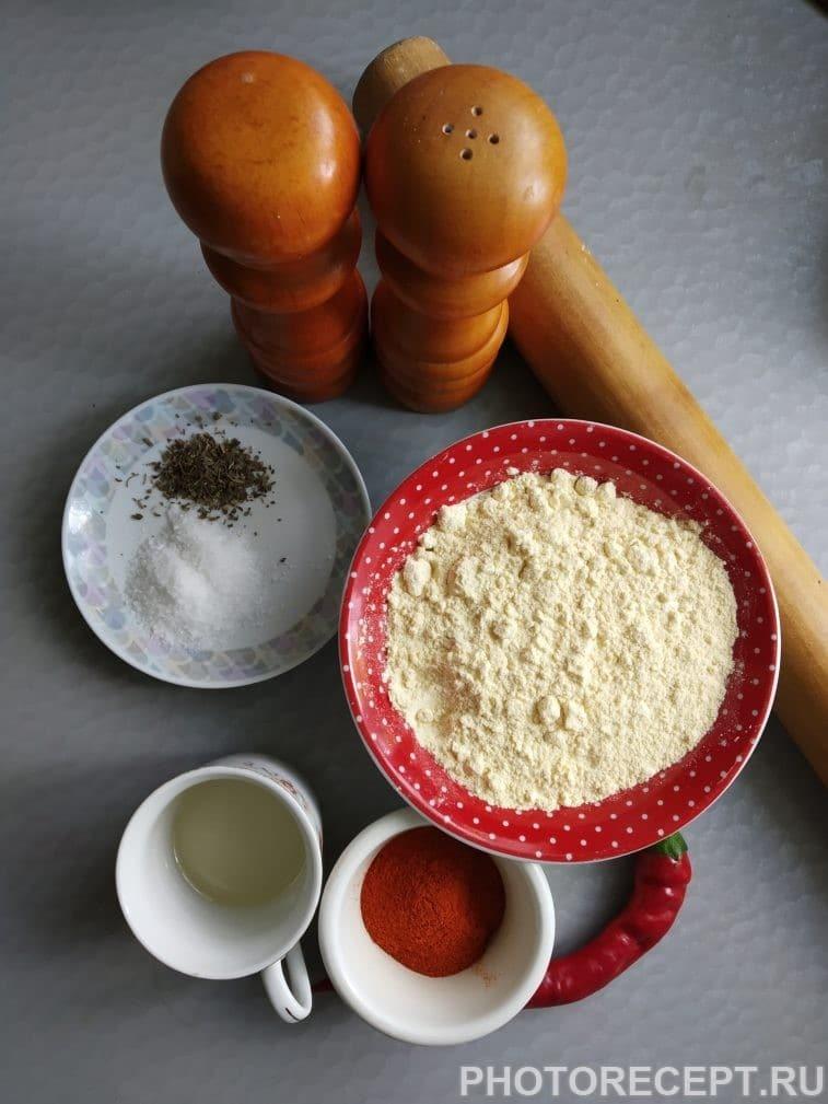 """Фото рецепта - Мексиканские чипсы """"Начос"""" - шаг 1"""