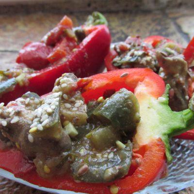 Теплый салат «Воспоминание о Таиланде» - рецепт с фото