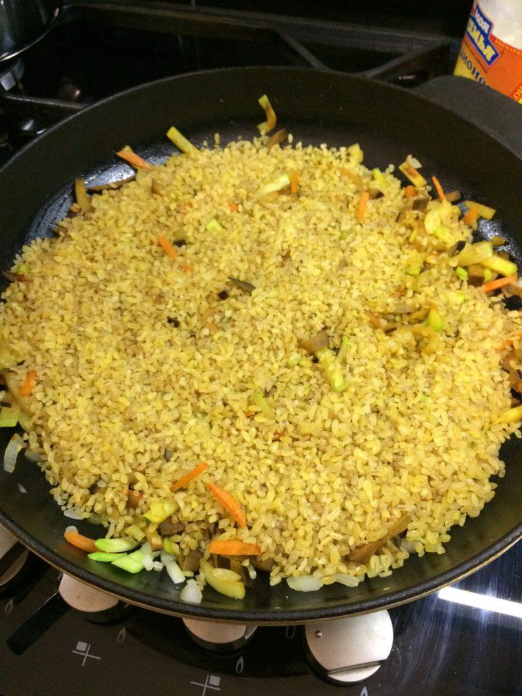 Фото рецепта - Булгур с овощами - шаг 3