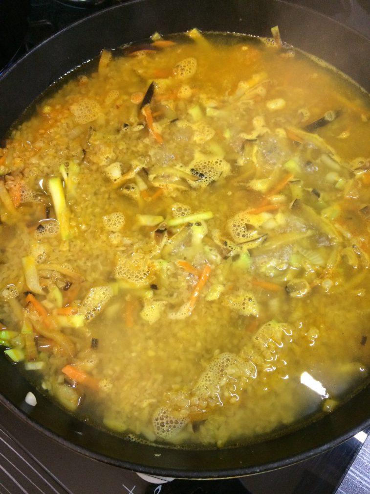 Фото рецепта - Булгур с овощами - шаг 4