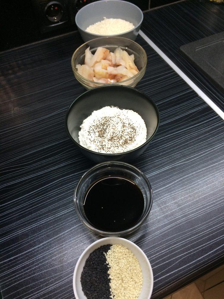 Фото рецепта - Жареная рыба с рисом - шаг 1