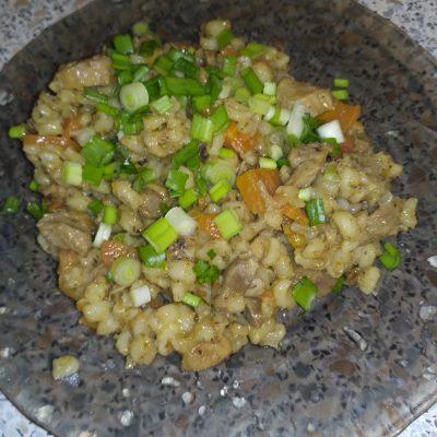 Перловая каша с курицей - рецепт с фото