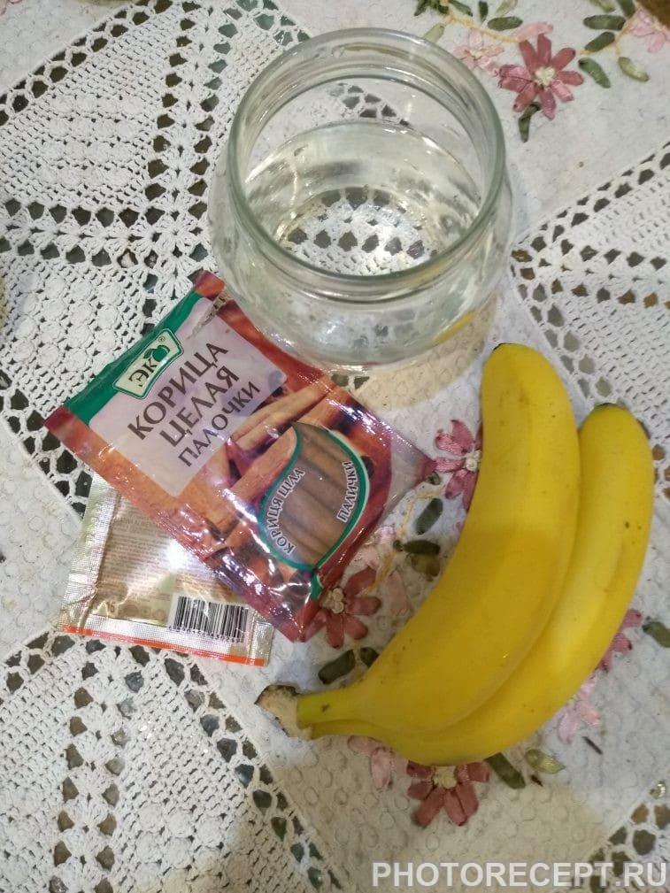 Фото рецепта - Питательное банановое молоко с корицей - шаг 1