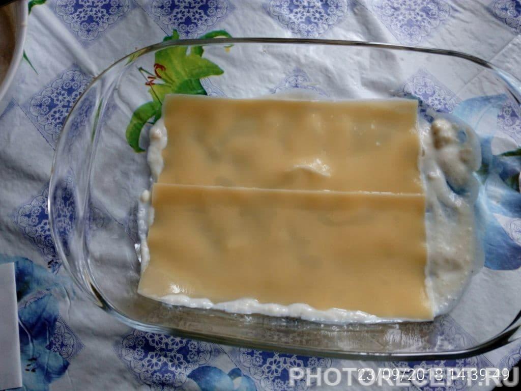 Фото рецепта - Домашняя лазанья с фаршем - шаг 5