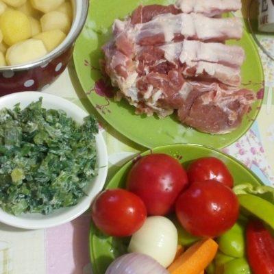 Фото рецепта - Домашняя шурпа из баранины - шаг 1