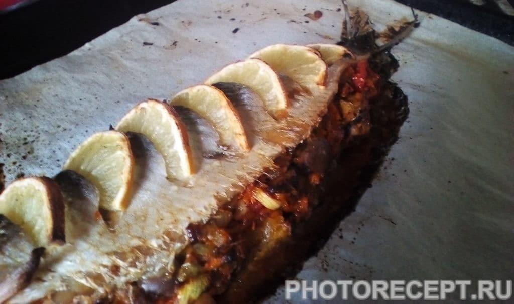 Фото рецепта - Карп в духовке - шаг 5