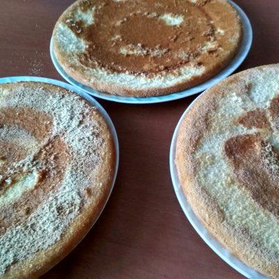 """Фото рецепта - Торт с марципаном """"Шоколадное вдохновение"""" - шаг 9"""