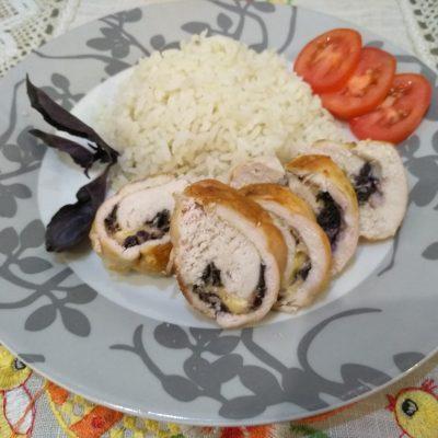 Нежнейшее куриное филе с базиликом и сыром - рецепт с фото