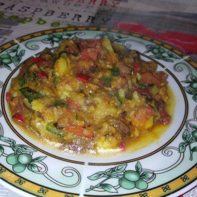 Фото рецепта - Овощное рагу с грибами - шаг 7