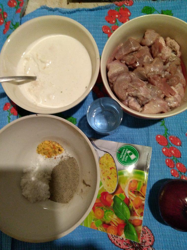 Фото рецепта - Жареное маринованое мясо козы (козлика) - шаг 2