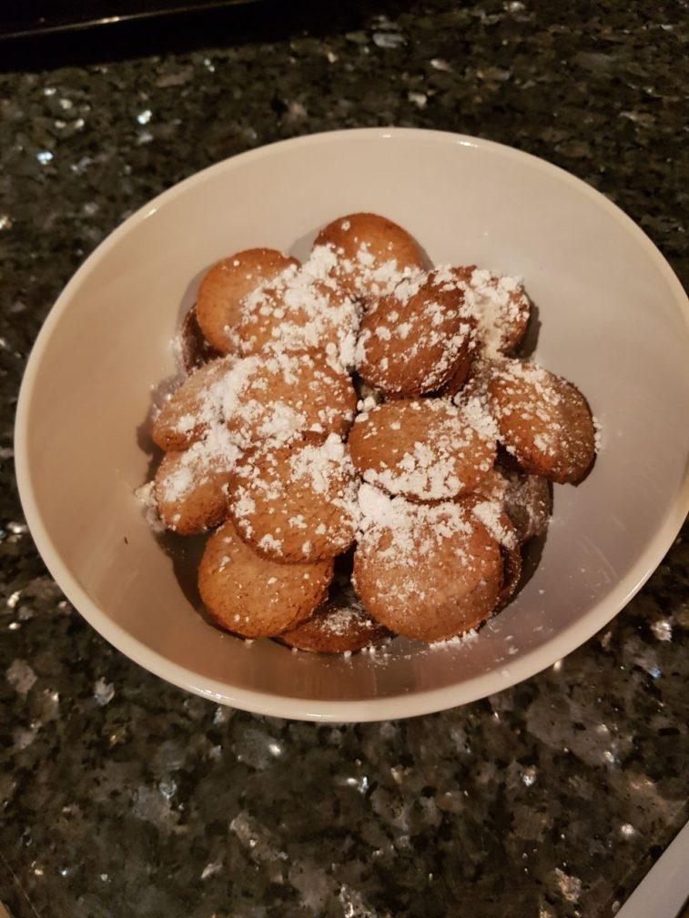 Быстрое печенье с сахарной пудрой - рецепт пошаговый с фото