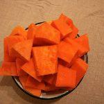 Фото рецепта - Пудинг из тыквы с творогом - шаг 2