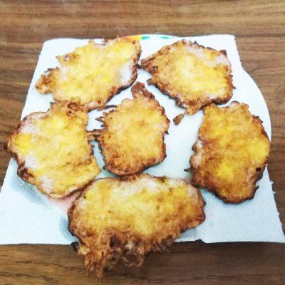 Соленые оладьи из тыквы - рецепт с фото