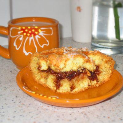 Фото рецепта - Быстрый пирог к чаю - шаг 5