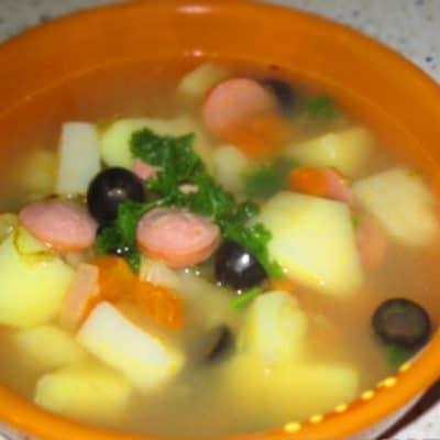 Солянка классическая - рецепт с фото