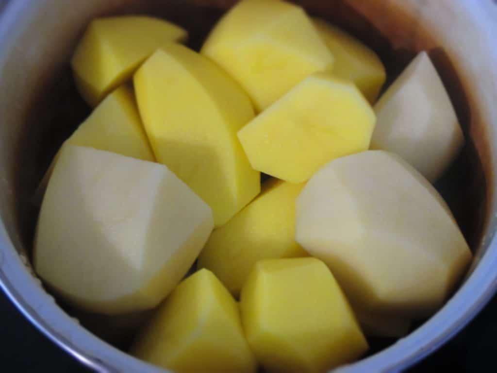 Фото рецепта - Кыстыбый с картофелем - шаг 1