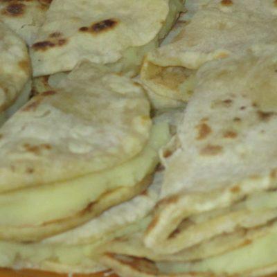 Фото рецепта - Кыстыбый с картофелем - шаг 4