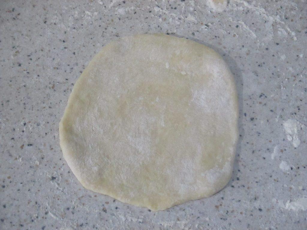 Фото рецепта - Кыстыбый с картофелем - шаг 3