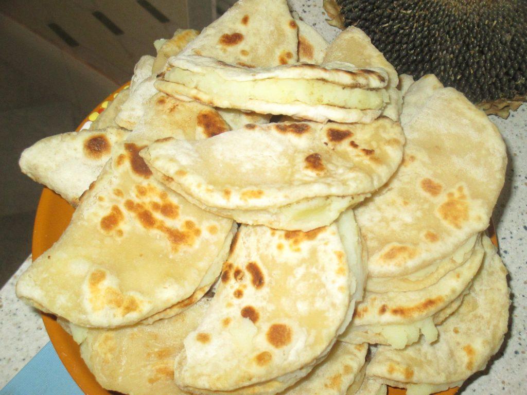 Фото рецепта - Кыстыбый с картофелем - шаг 5