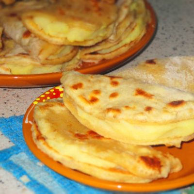 Кыстыбый с картофелем - рецепт с фото